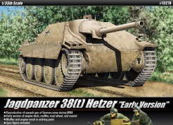 Hetzer 38t Early Production