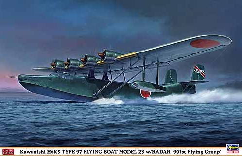 Kawanishi H6K5 Type 97 Flying Boat Model 23 w/Radar