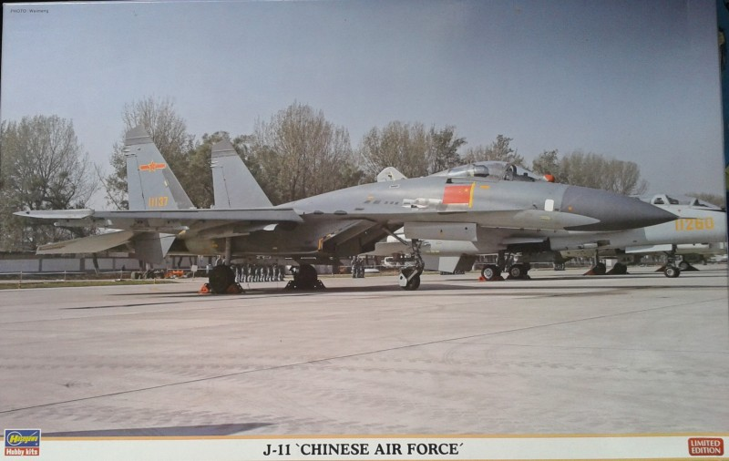 J-11 Chinese Air Force Limited Edition