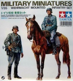 GERMAN WERMACHT MOUNTED W/HORSE