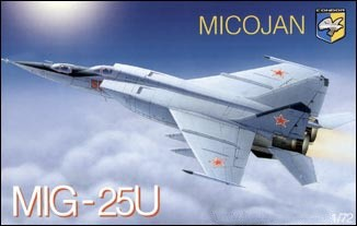 Mig-25U Soviet training battle interceptor