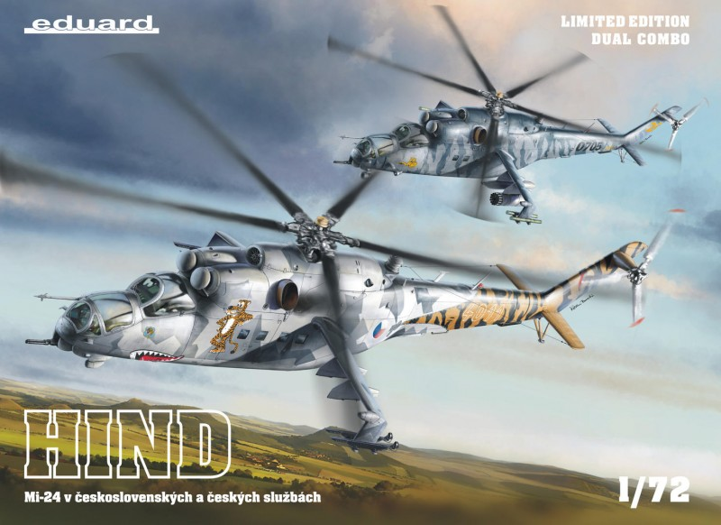 Mi-24 in Czech and Czechoslovak service DUAL COMBO