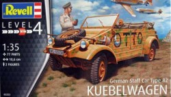 "German Staff Car Type 82 ""Kübelwagen"""