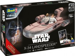 X-34 Landspeeder Gift-Set SW Limited Edition 40th ANNIVERSARY
