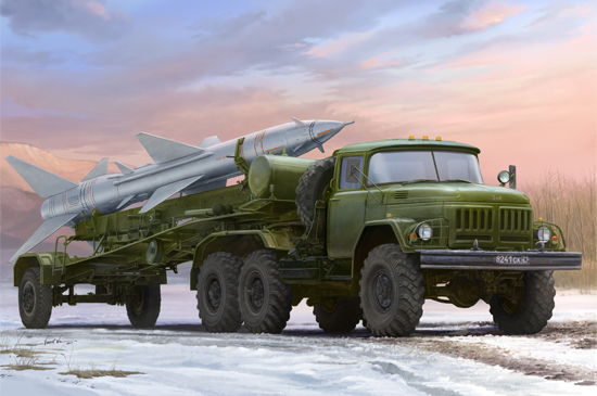 Russian Zil-131V towed PR-11 SA-2 Guideline /Slovak Armed Forces/