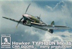 Typhoon Mk.Ib Car doors EARLY