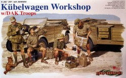 Kubelwagen Workshop w/DAK Troops