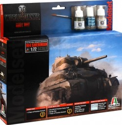 SHERMAN - WoT - model set