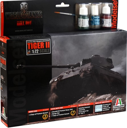TIGER II - WoT- model set