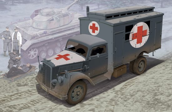 German Ambulance Truck