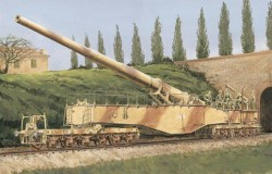 'LEOPOLD' GERMAN RAILWAY GUN 28cm K5(E)