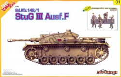 Sd.Kfz.142/1 StuG.III Ausf.F + BONUS (w/Magic Track)
