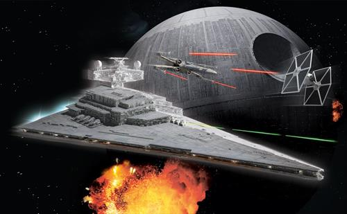 Imperial Star Destroyer Build & Play