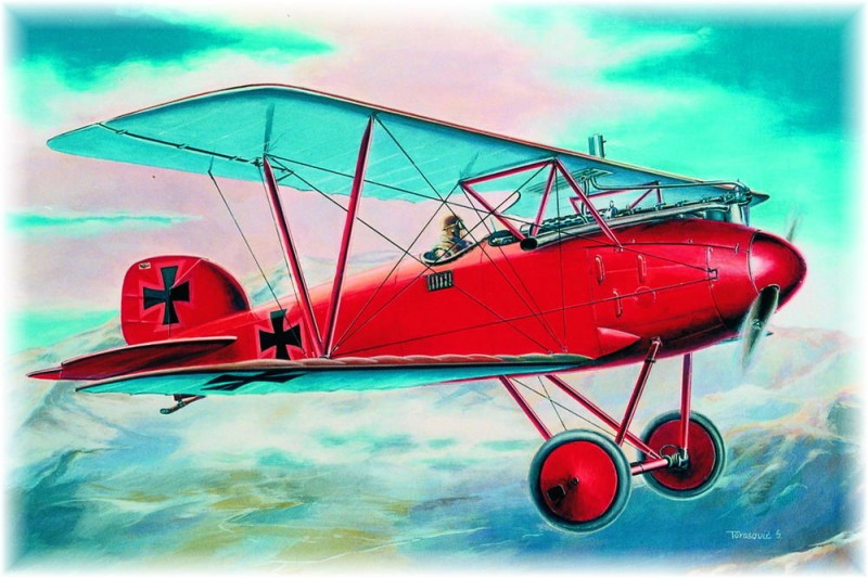 Albatros D.III early version