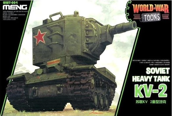 World War Toons KV-2 Soviet Heavy Tank