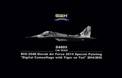 MiG-29AS Slovak Air Force Digital Camouflage 2014/2016 Special Painting (Limited Edition)