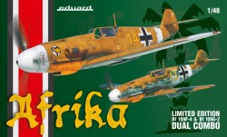 Afrika DUAL COMBO Bf109F/Bf109G Limited edition