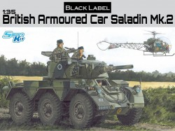 BRITISH ARMORED CAR SALADIN Mk.II