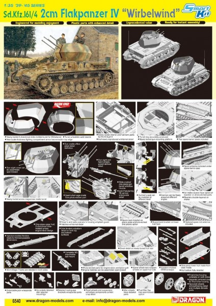 "Sd.Kfz.161/4 2cm FLAKPANZER IV ""WIRBELWIND"" (SMART KIT)"