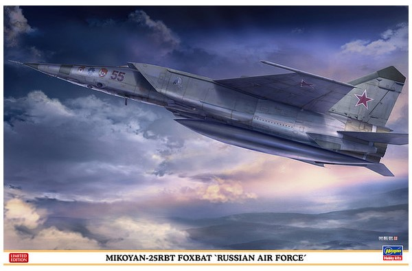 "MiG-25RBT Foxbat ""Russian Air Force"""