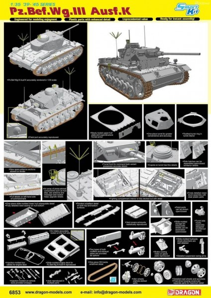 Pz.Bef.Wg.III Ausf.K (Smart Kit)