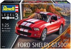 2010 Ford Shelby GT 500 Model Set