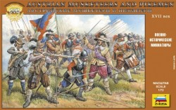 Austrian Musketers and Pikeman