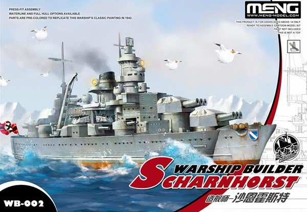 Warship Builder - WWII German Scharnhorst