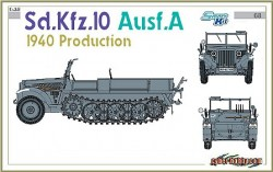 Sd.Kfz.10 Ausf.A 1940 PRODUCTION (SMART KIT)