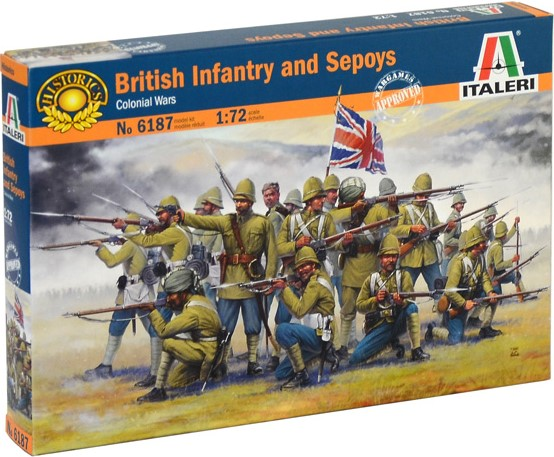 British Infantry and Sepoys