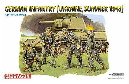 German Infantry (Ukraine, Summer 1943)