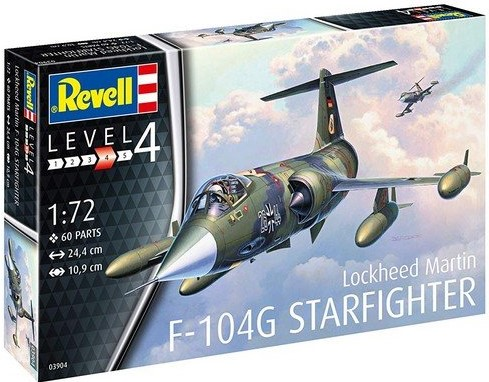F-104G Starfighter Model Set