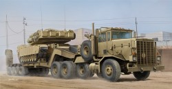 M911 C-HET w/m747 Heavy Equipment Semi- Trailer