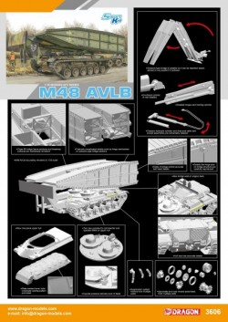M48 AVLB (ARMORED VEHICLE LAUNCHED BRIDGE)