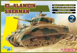 El Alamein Sherman (w/Magic Tracks) (SMART KIT)