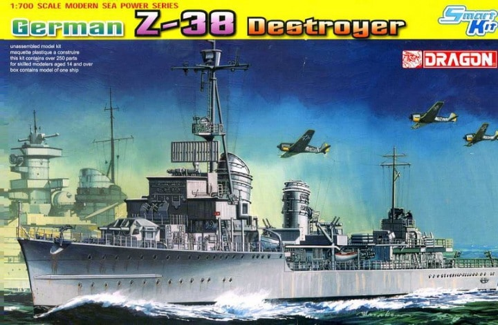 GERMAN Z-38 DESTROYER (SMART KIT)