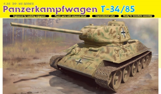 Panzerkampfwagen T-34/85 (No.112 Factory, 1944 Production)