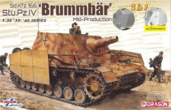 Sd.Kfz.166 Stu.Pz.IV 'BRUMMBÄR' MID-PRODUCTION (2 IN 1)