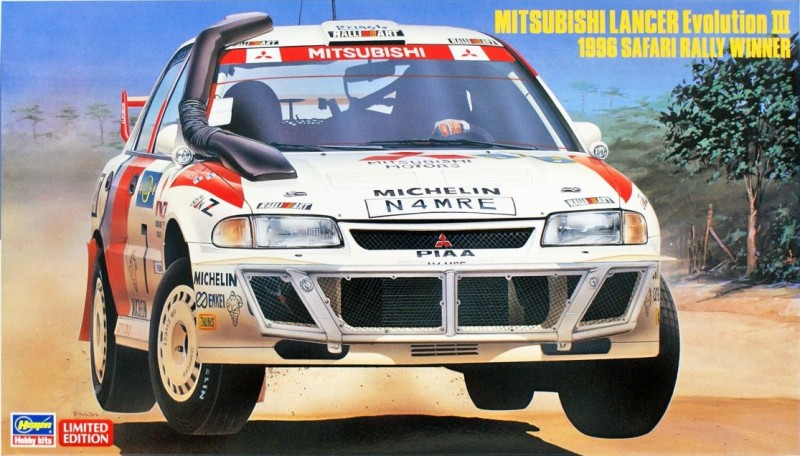Mitsubishi Lancer Evolution III 1996 Safari Rally Winner
