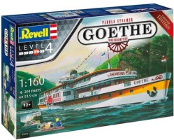 Rheindampfer / Paddle Steamer GOETHE