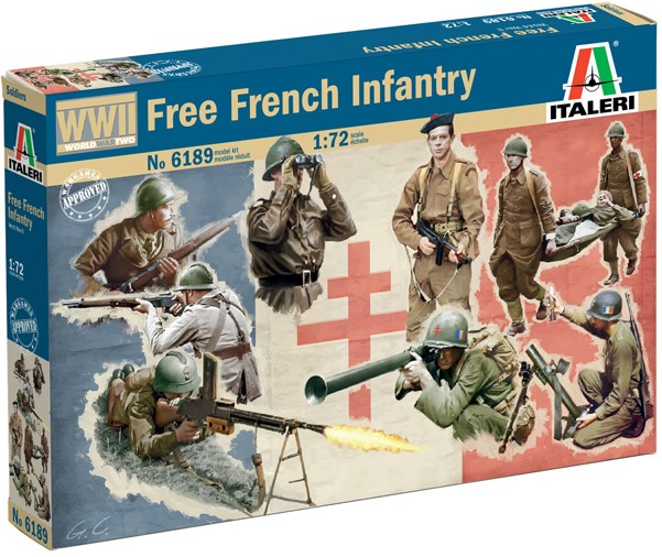 WWII - Free French Infantry