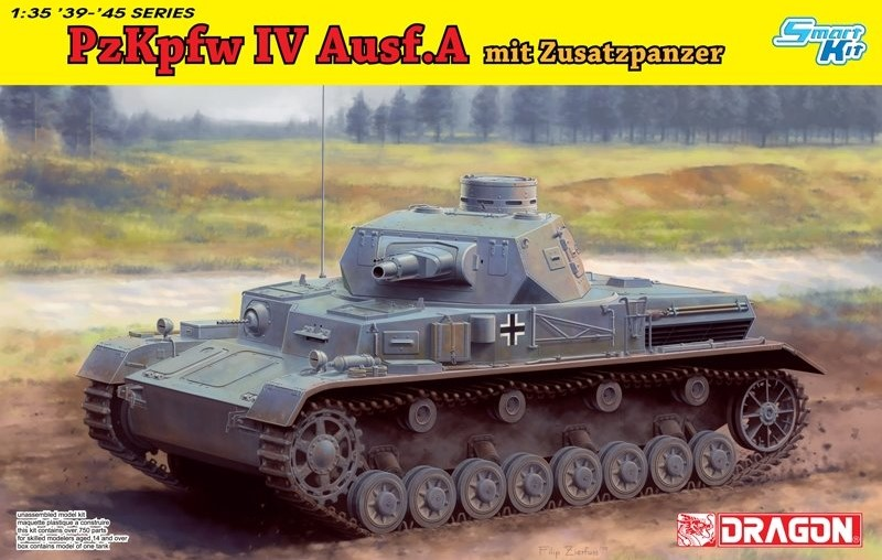 Pz.Kpfw.IV Ausf.A Up-Armored Version