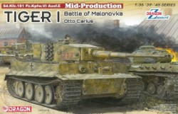 Tiger I Mid-Production w/Zimmerit Otto Carius (Battle of Malinava Village 1944)