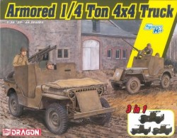 Armored 1/4-Ton 4x4 Truck 3v1
