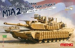 U.S. Main Battle Tank M1A2 SEP Abrams TUSK I/TUSK II