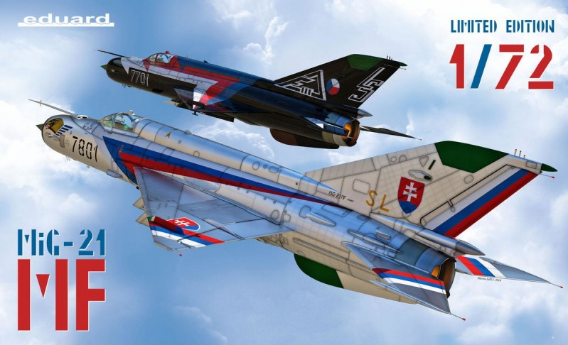 MiG-21MF in Czech and Czechoslovak service Limited Edition