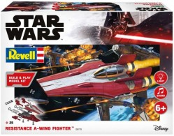 Resistance A-wing Fighter, red