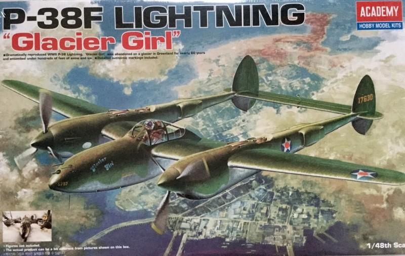 P-38F LIGHTNING GLACIER GIRL