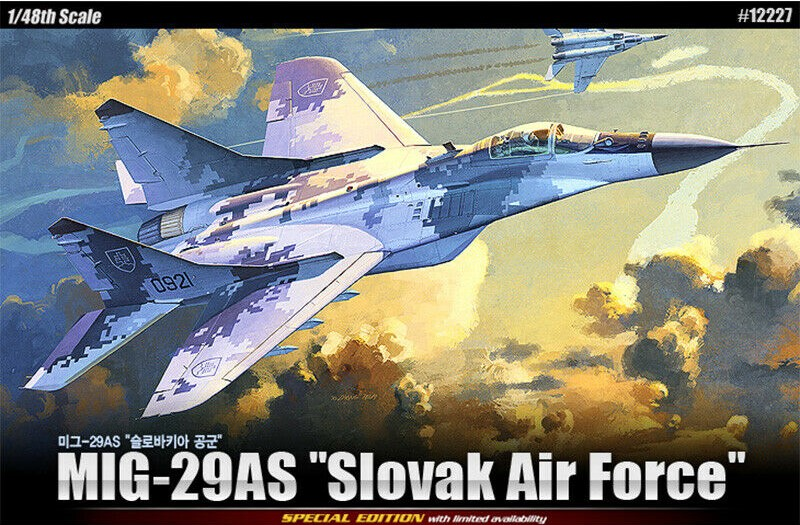 """Mig-29AS Limited """"Slovak Air Force"""""""