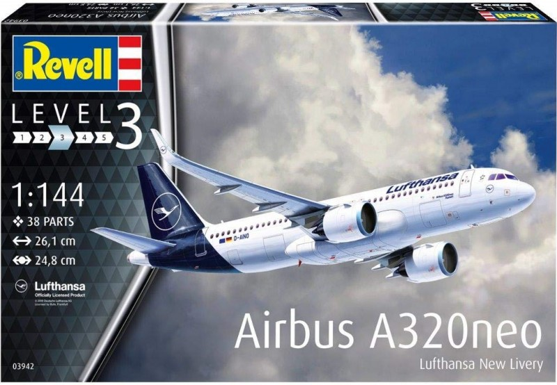 """Airbus A320 Neo Lufthansa """"New Livery"""""""